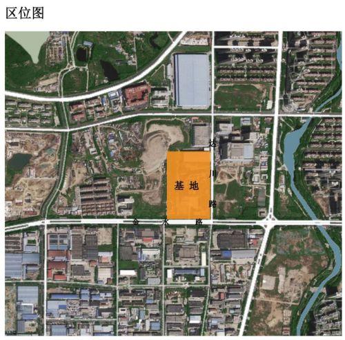 金泓热电燃气锅炉供热工程区位图