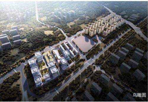 李滄區青銀高速東側地塊鳥瞰圖